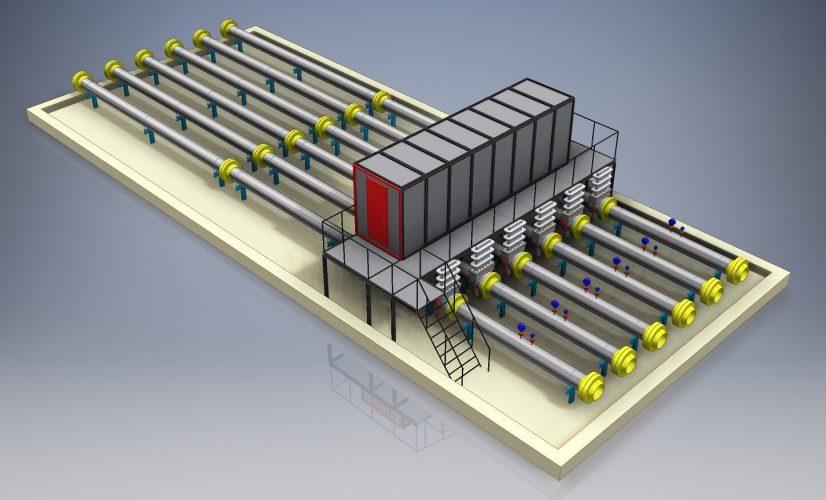 Система измерения расхода газа